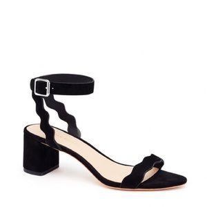 Loeffler Randall Emi Scalloped Sandals, size 6.5
